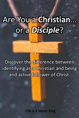 Christian or disciple