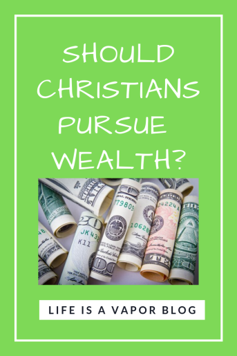 Christians and Wealth Pinterest
