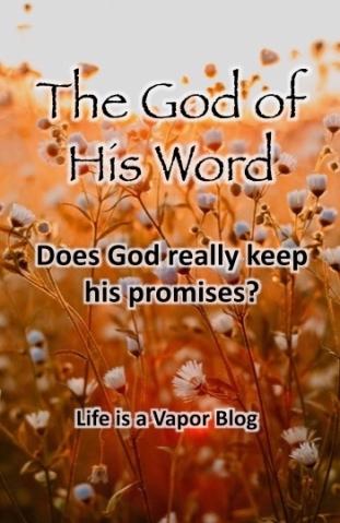 God of his promises Pinterest