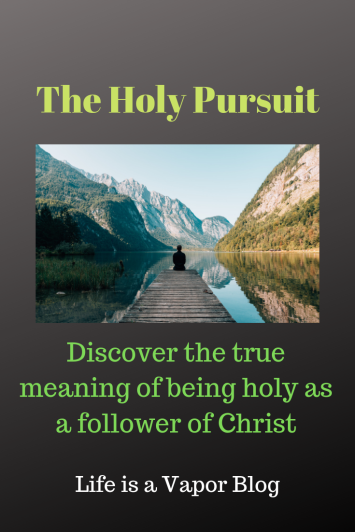 The Holy Pursuit Pinterest